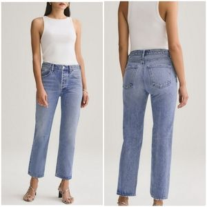 Agolde Ripley High-Rise Straight Jeans